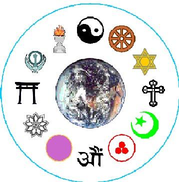 Religiões pelo mundo