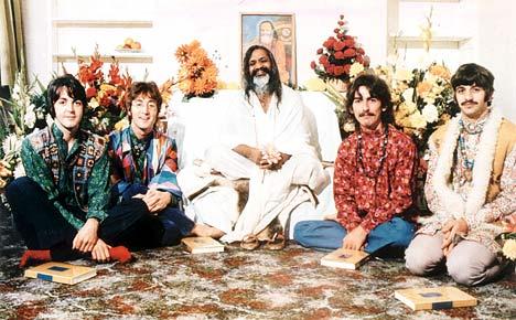 The Beatles e o guru Yogi
